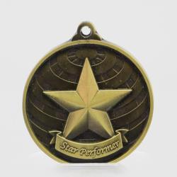 Global Star Performer Medal 50mm Gold