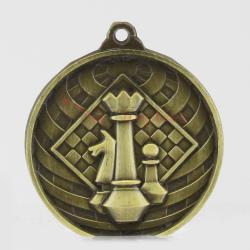 Global Chess Medal 50mm Gold