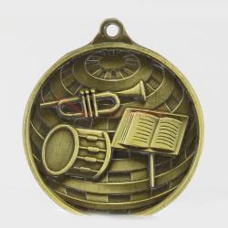 Global Band Medal 50mm Gold