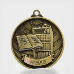 Global Reading Medal 50mm Gold