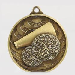 Global Cheerleading Medal 50mm Gold