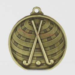 Global Hockey Medal 50mm Gold