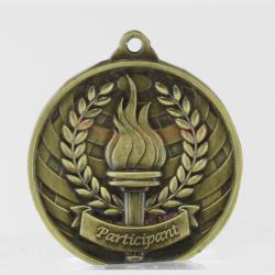 Global Participant Medal 50mm Gold