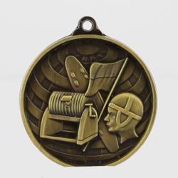 Global Surf Lifesaving Medal 50mm Gold