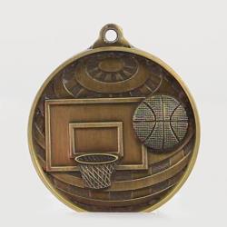 Global Basketball Medal 50mm Gold