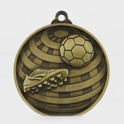 Global Soccer Medal 50mm Gold