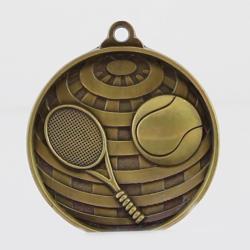 Global Tennis Medal 50mm Gold