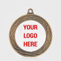 Heavyweight Spiro Personalised Medal 70mm Gold