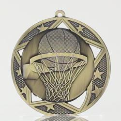 Stellar Basketball Medal 70mm