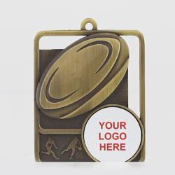 Silhouette Series AFL Logo 60mm Gold