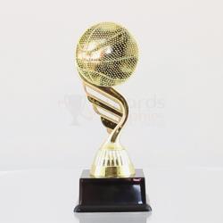 Basketball Theme on Black Base 160mm