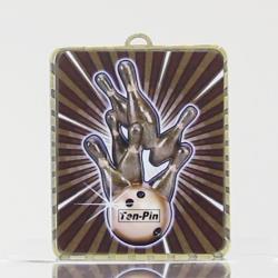 Lynx Medal Tenpin Bowling 75mm