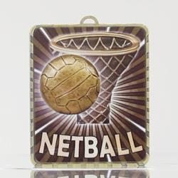 Lynx Medal Netball Theme 75mm
