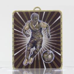 Lynx Medal Soccer Male 75mm