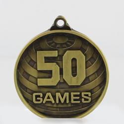 Global 50 Games Medal 50mm