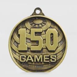 Global 150 Games Medal 50mm