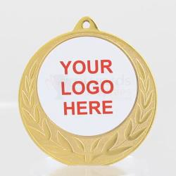 Coronet Personalised Medal 70mm Gold