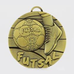 Futsal Medal 50mm Gold