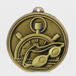 Triumph Swimming Medal 50mm Gold