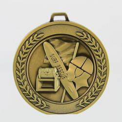Heavyweight Surf Lifesaving Medal 70mm Gold