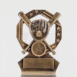 Bronzed Aussie Baseball 120mm
