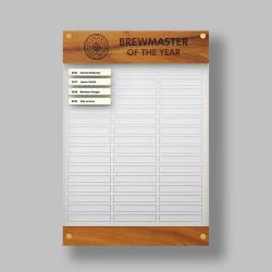 Hybrid Honour Board