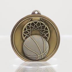 Triumph Basketball Medal 50mm Gold