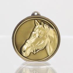 Triumph Horse Medal 50mm Gold