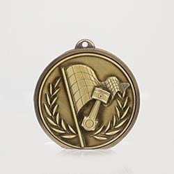 Triumph Motorsport Medal 50mm Gold