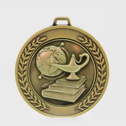 Heavyweight Academic Medal 70mm Gold