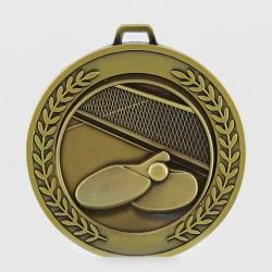 Heavyweight Table Tennis Medal 70mm Gold