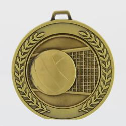 Heavyweight Volleyball Medal 70mm Gold