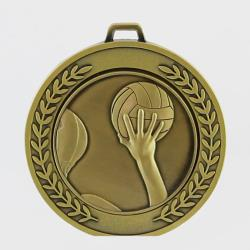 Heavyweight Water Polo Medal 70mm Gold