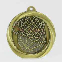 Econo Basketball Medal 50mm Gold