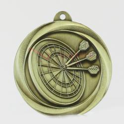 Econo Darts Medal 50mm Gold