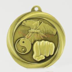 Econo Martial Arts Medal 50mm Gold
