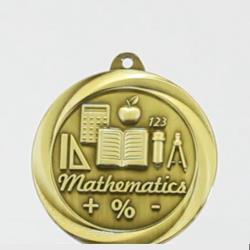Econo Maths Medal 50mm