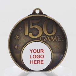 Personalised 150 Games Medal 50mm