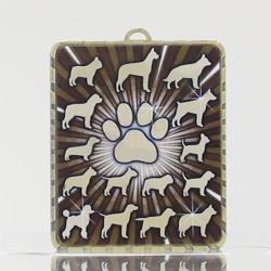 Lynx Medal Dogs 75mm