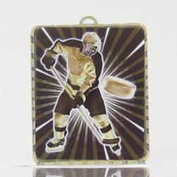 Lynx Medal Ice Hockey 75mm