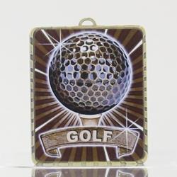 Lynx Medal Golf 75mm