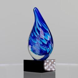 Art Glass Blue Dream 200mm