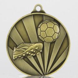 Sunrise Soccer Medal 70mm Gold