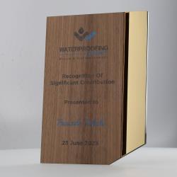 Aurelian Gold Plaque Small