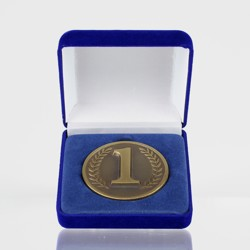 1st Place Gold Coin in Case