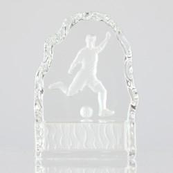 Soccer Crystal 110mm