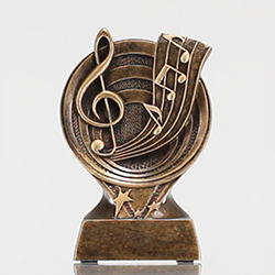 Music Notes Resin 135mm