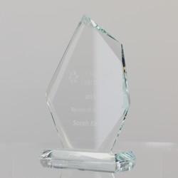 Multifaceted Glass Peak 190mm