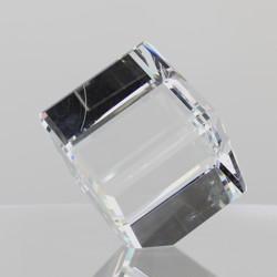 Rikaro Crystal Bevelled Cubes 90mm